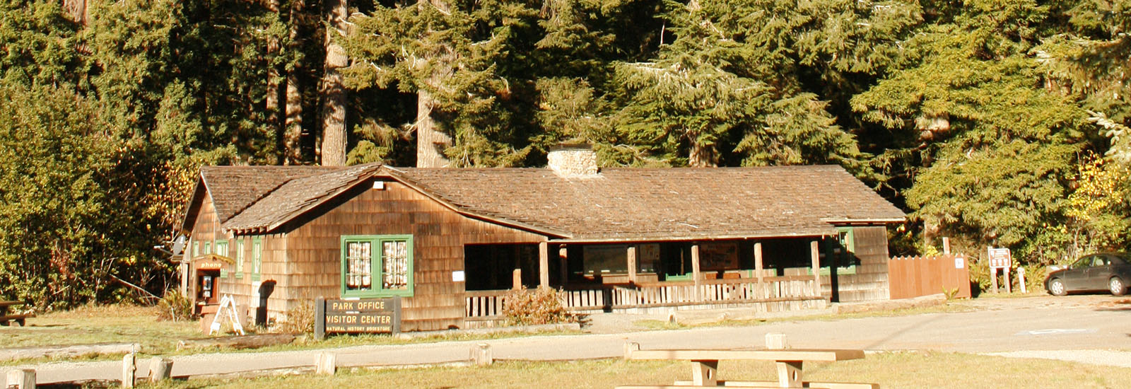 Prairie Creek Redwoods State Park Visitor Center