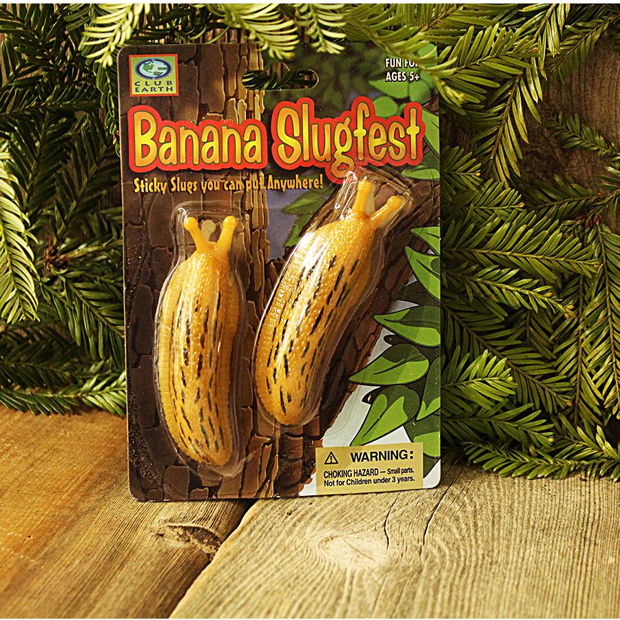 Banana Slugfest Sticky Banana Slugs
