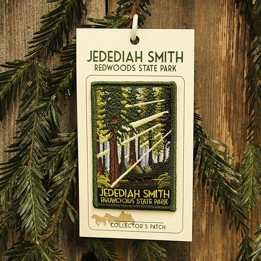 Jedediah Smith Redwoods State Park Patch