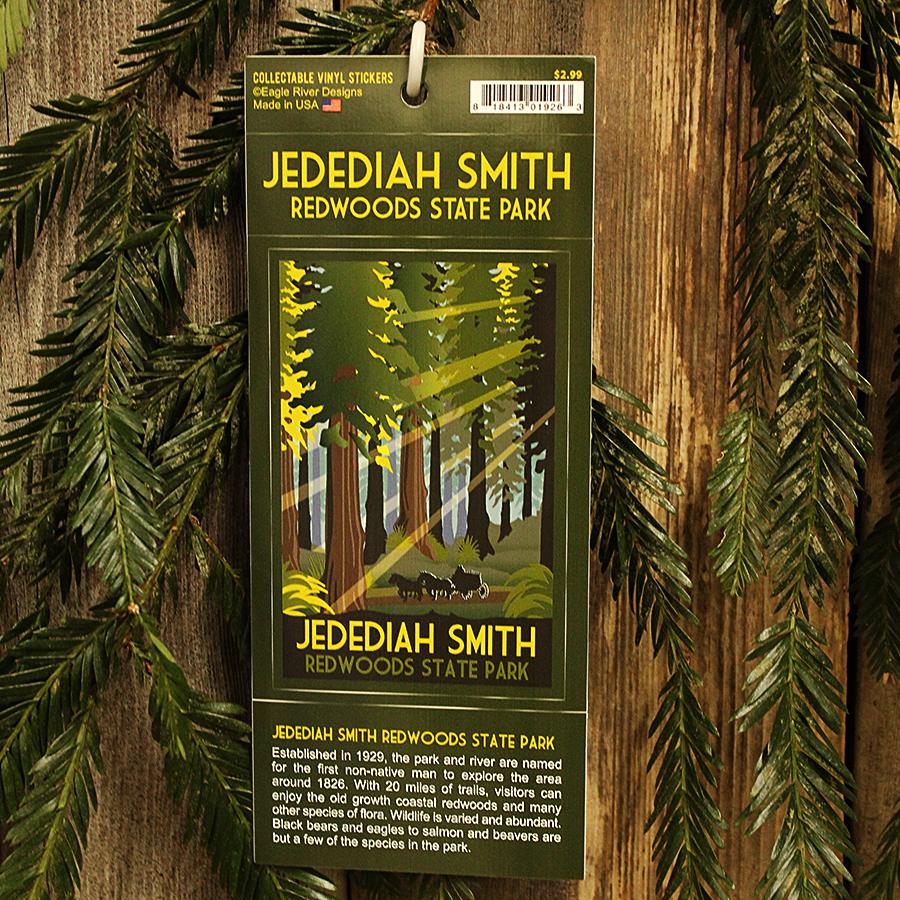 Jedediah Smith Redwoods State Park Window Sticker
