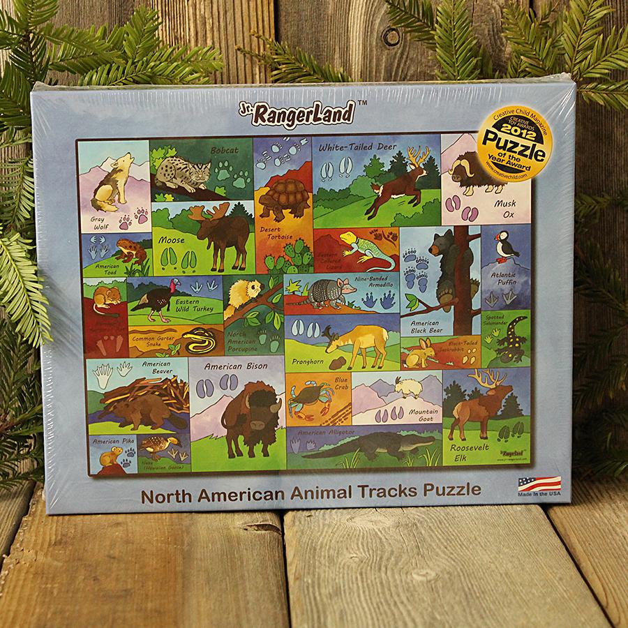 Jr. RangerLand Animal Tracks Puzzle
