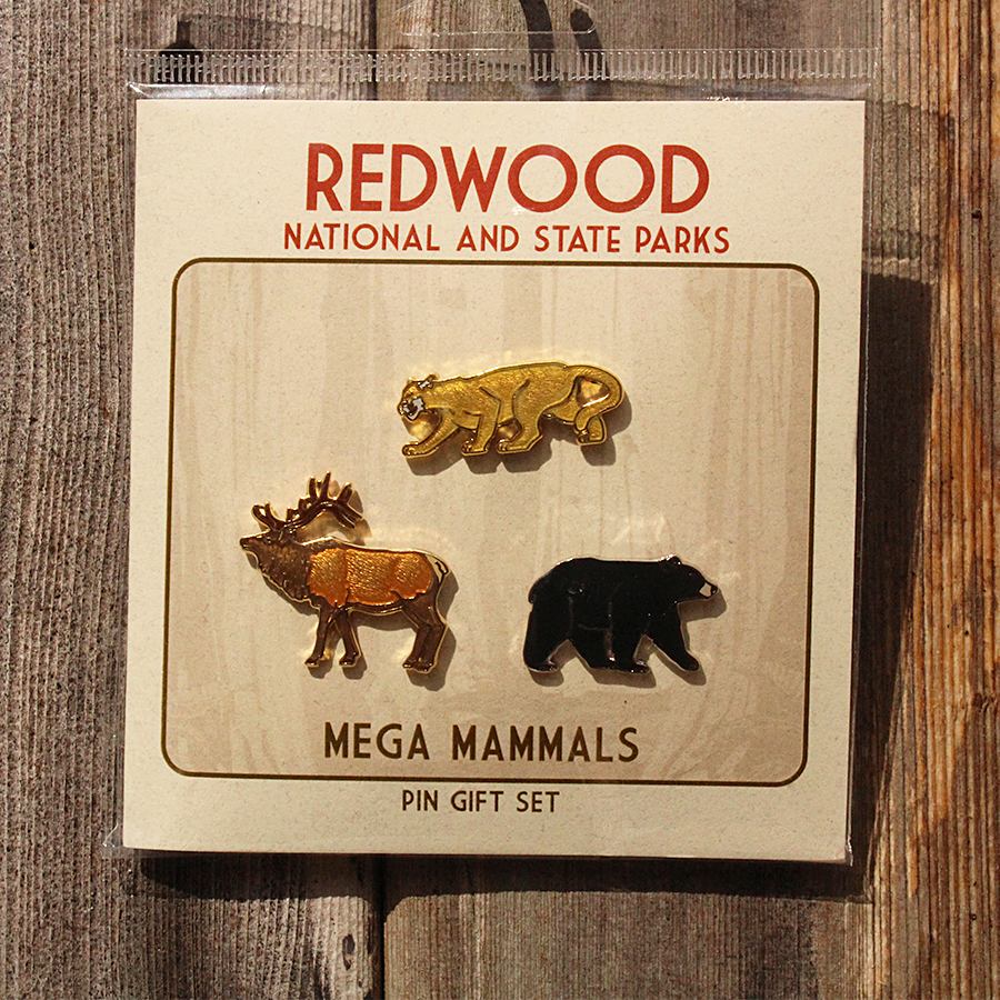Mega Mammal Pin Set