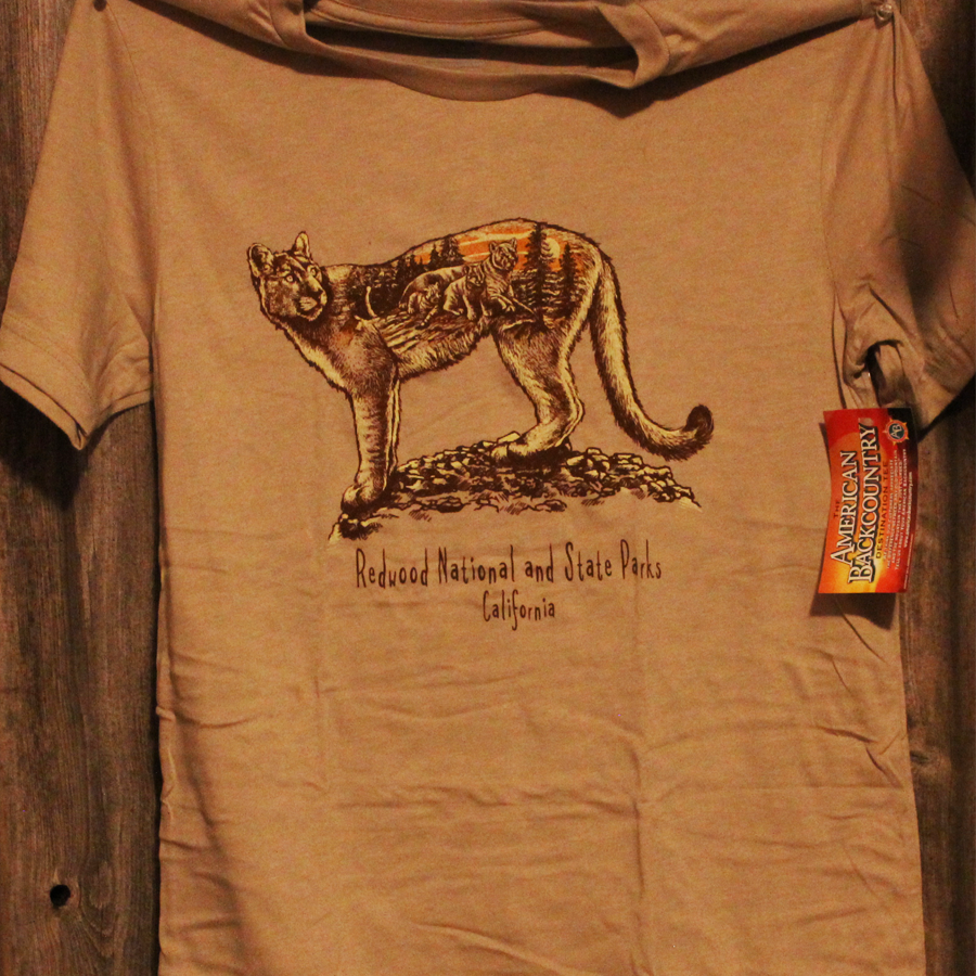 Redwood National and State Parks Mt. Lion Tee Shirt