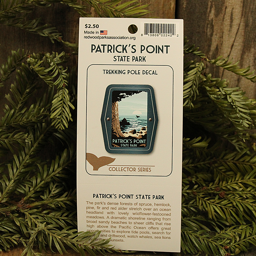 Patrick's Point State Park Trekking Pole Decal