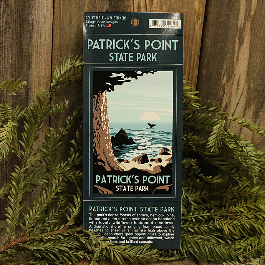 Patrick's Point State Park Sticker