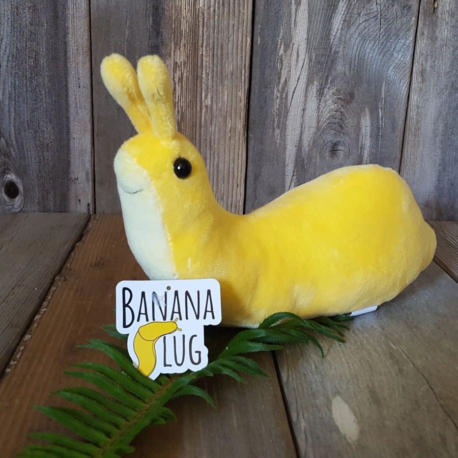 Plush Banana Slug