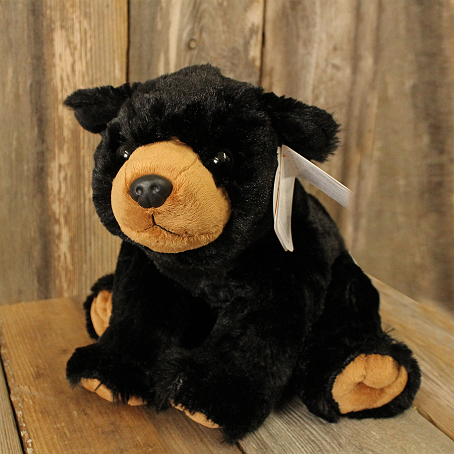 Plush Black Bear