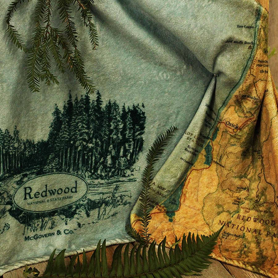 Redwood Blanket Map