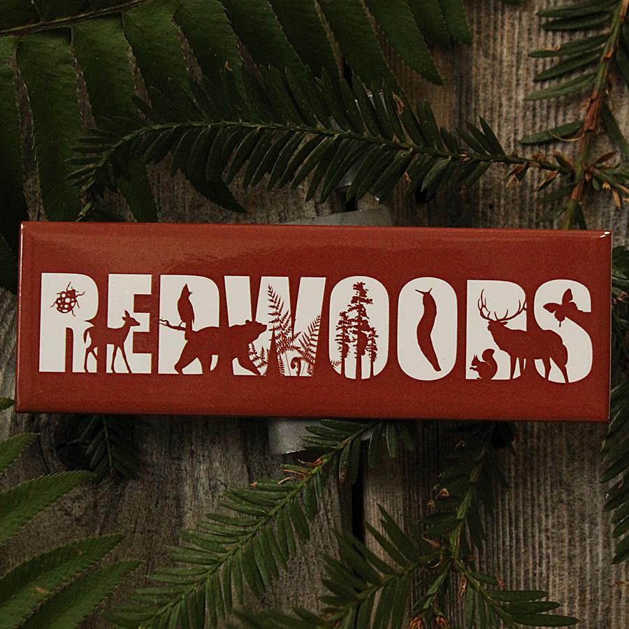 Redwoods Horizontal Magnet