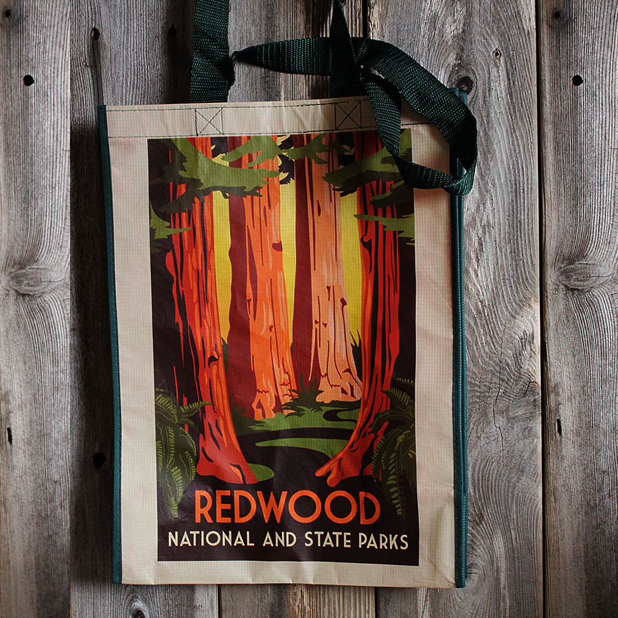Redwood National and State Parks Reusable Bag