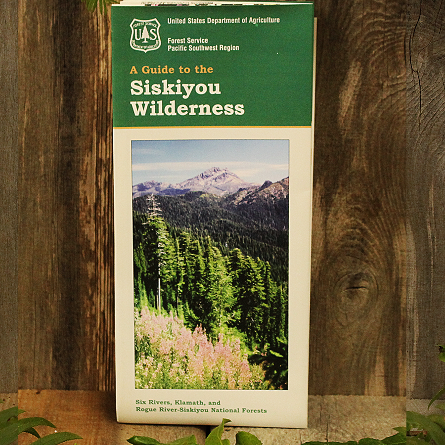 Siskiyou Wilderness Map