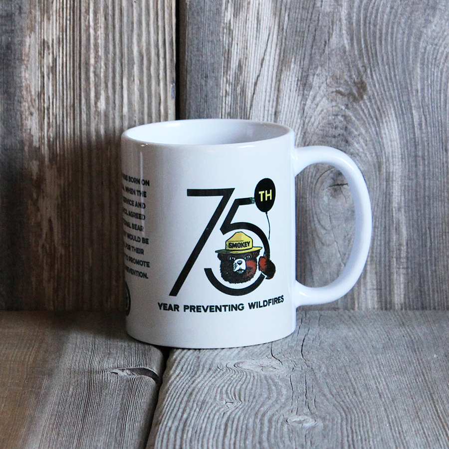 Smokey 75th Anniversary Mug