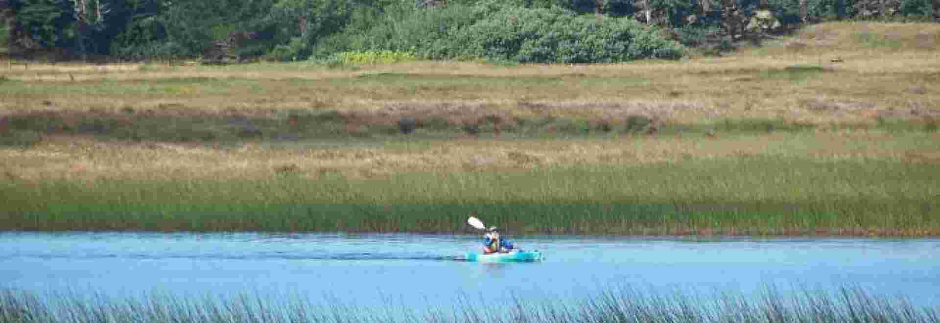Kayaking on McLoughlin Pond