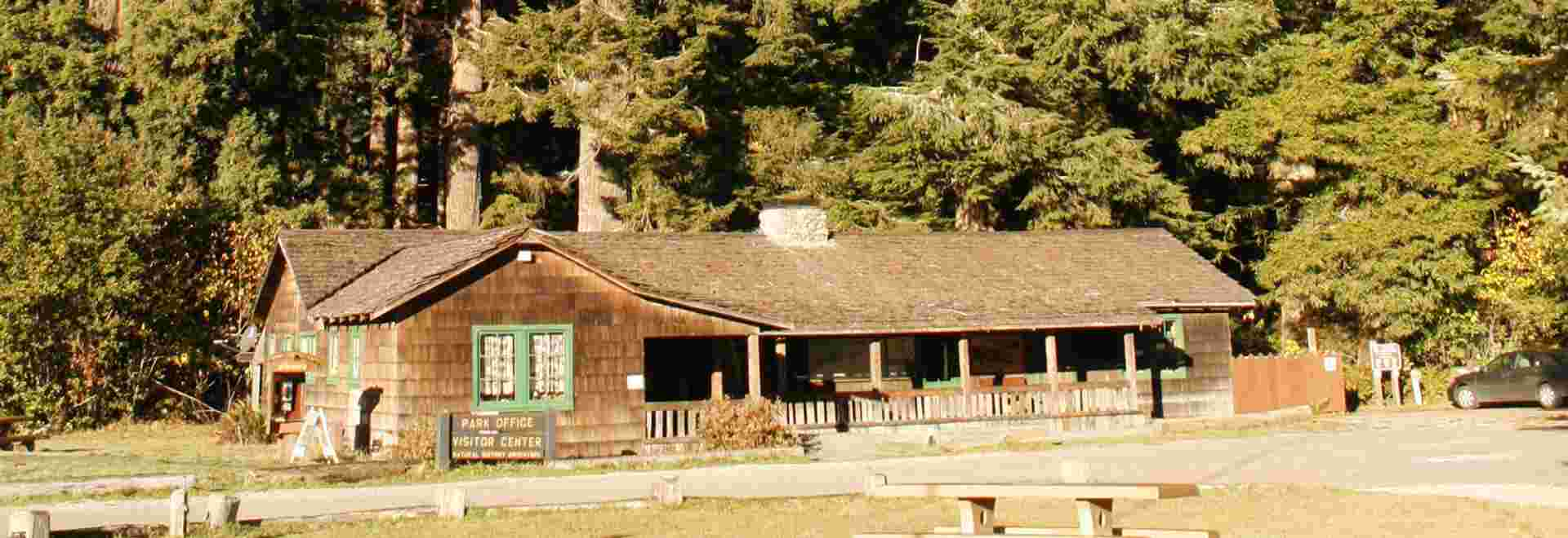 Prairie Creek visitor center, Prairie Creek Redwoods and Redwood National and State Parks