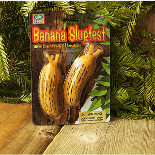 Banana Slugfest Sticky Banana Slugs