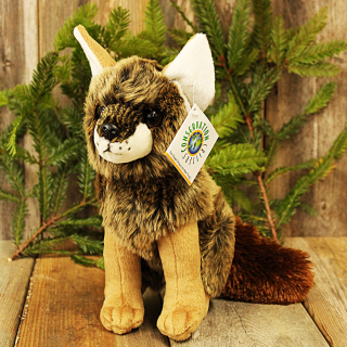 Plush Stuffed Coyote
