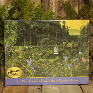 Elk Prairie Jigsaw Puzzle