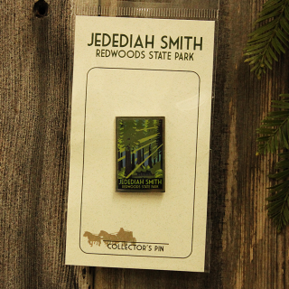 Jedediah Smith Redwoods Park Pin