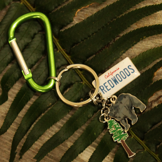Redwood Key-chain with Charms