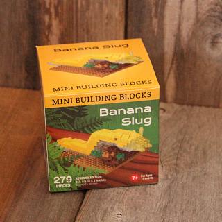 Banana Slug Mini Building Blocks