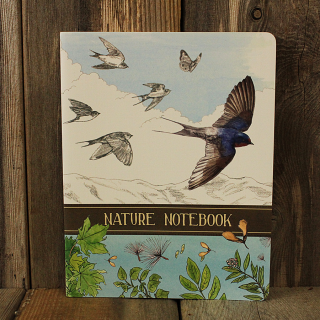 Nature Notebook, journal for young and old to record their nature experiences