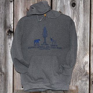 Redwood National and State Parks Embroidered Hooded Sweatshirt