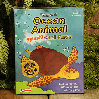 Jr. RangerLand Ocean Animal Splash! Card Game