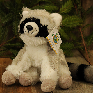 Little Plush Stuffed Raccoon