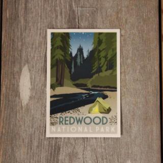 Redwood National Park Window Sticker