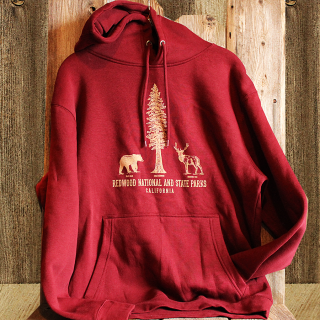 Redwood National and State Parks Hooded Sweatshirt