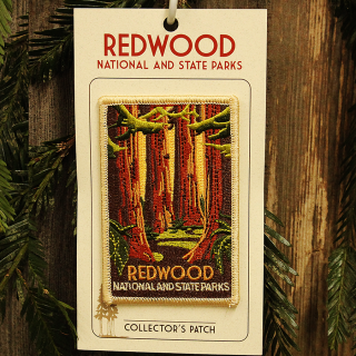 Redwood National and State Parks WPA Style Patch