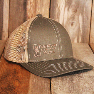 Redwood National and State Parks Trucker Style Mesh Ball Cap