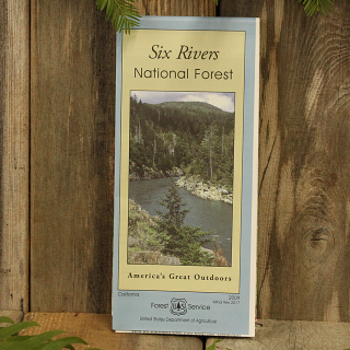 Six Rivers National Forest Map