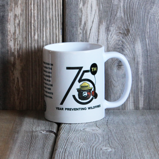 Smokey 75th Anniversary Mug