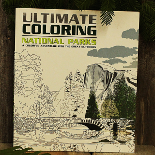 Ultimate Coloring National Parks