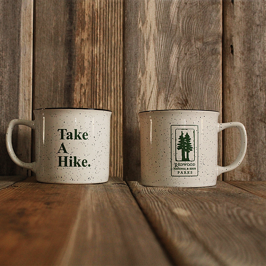 Redwood National and State Parks Ceramic Enameled Camp Cup